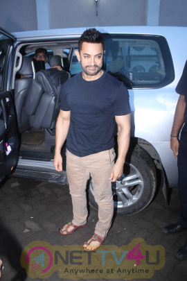 Aamir Khan Sports A Cool Hairstyle Superb Stills Hindi Gallery