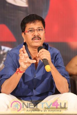Aatadukundam Raa Movie Success Meet Classic Stills
