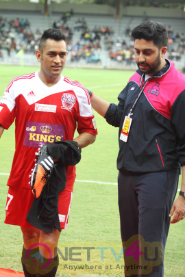 Abhishek Bachchan & Many Celebs No Losers At The Celebrity Football Match Photos Hindi Gallery