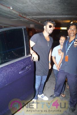Actor Arjun Kapoor Spotted At The Chhatrapati Shivaji International Airport Statuesque Photos Hindi Gallery