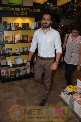 Actor Emraan Hashmi During The Launch Of Book Dubai An Experience Latest Stills Hindi Gallery