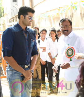 Actor Ganesh Venkatraman Inaugurates Agar Fest Swachh Bharat 2016 Cute Photos Tamil Gallery