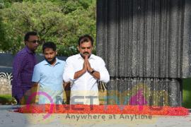 Actor Jr NTR & Director Koratala Siva At NTR Ghat Photos Telugu Gallery