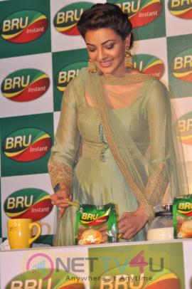 Actor Karthi & Kajal Agarwal Launch In Bru Exclusive Stills  Tamil Gallery