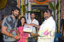 Actor Nani & D.V.V. Danayya Movie Opening Stills