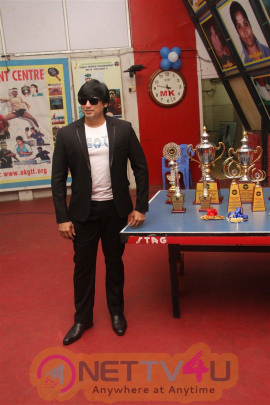 Actor Prashanth Opening In Kreeda Corporate Table Tennis Tournament Photos Tamil Gallery