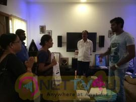 Actor Vishal Helped Music Director Chandrabose Stills Tamil Gallery