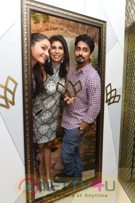 Actors Siddharth And Andrea Jeremiah Inaugurated Wink Salon Images Tamil Gallery
