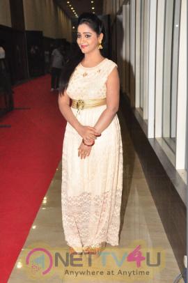 Actress Aishwarya Attractive Stills At Kabali Audio Launch