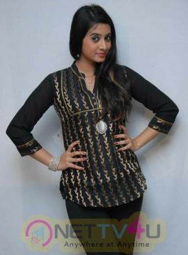 Actress Harshika Poonacha Dazzling Images Kannada Gallery