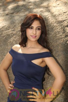 Actress Harshika Singh Lovely Images At Satya Gang New Movie Opening Telugu Gallery