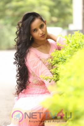 Actress Ishika Singh Statuesque Images At Karulo Shikarukelithe Movie Teaser Launch