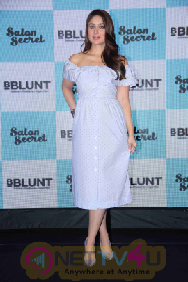 Actress Kareena Kapoor Khan Launches Bblunt Salon Secret Attractive Pics Hindi Gallery
