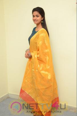 Actress  Keerthy Suresh Stills At Nenu Local Movie Opening