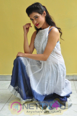 Actress Kimaya Beautiful Images At Bitragunta Movie Opening Telugu Gallery