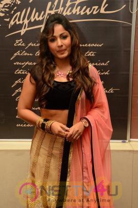 Actress Madhavi Latha Lovely Stills At Dr. Chakravarthy Music Launch Telugu Gallery