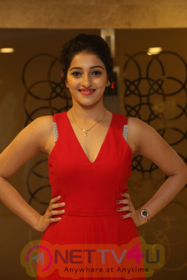 Actress Mouryaani Hot Images At Intlo Deyyam Nakem Bhayam Movie Trailer Launch