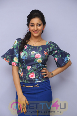 Actress Mouryani Statuesque Images At Janaki Ramudu Movie Audio Launch