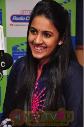 Actress Niharika At Radio City Good Look Stills Telugu Gallery