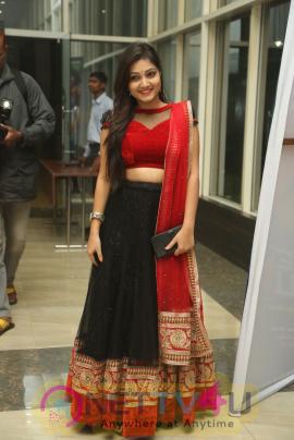 Actress Priyanka Beautiful Photos At Hyper Theatrical Trailer Launch
