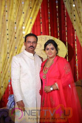Actress Radha 25th Wedding Anniversary Exclusive Stills