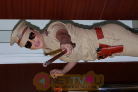 Actress Rakhi Sawant At New Web Series Presenting Rakhi In Khaki Photos