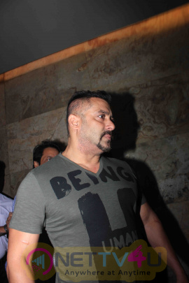 Actress Salman Khan At Screening Of Flim Sultan Gorgeous Photos