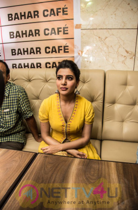 Actress Samantha Launches 7th Bahar Cafe Restaurant Photos Telugu Gallery