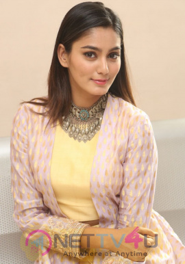 Actress Sana Maqbool Lovely Stills At Mama O Chandamama Movie Press Meet