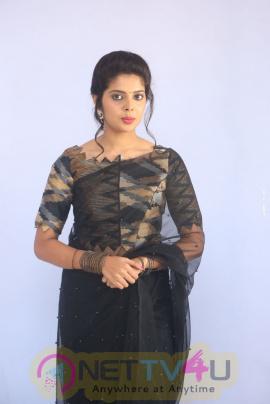 Actress Shravya Enticing Pics At Nandini Nursing Home Audio Success Meet
