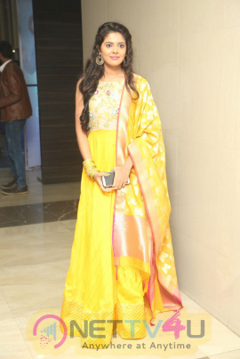 Actress Shravya Good Looking Images At Nandini Nursing Home Movie Audio Launch
