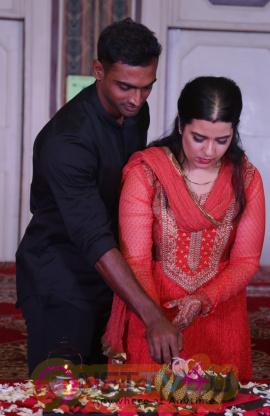 Actress Sripriya And Rajkumar Sethupathy 25th Wedding Anniversary Photos