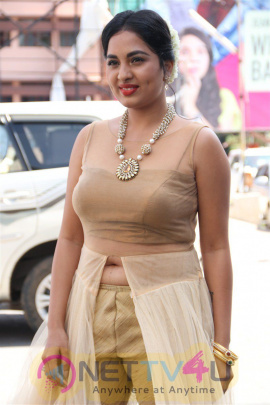 Actress Srushti Dange New Pics At Dharma Durai Audio Launch