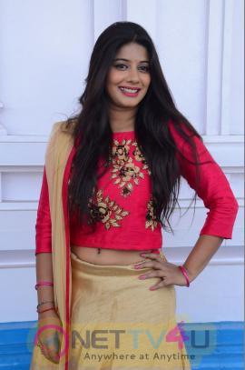 Actress Sruthi Exotic Images At Mahalakshmi Telugu Movie Launch
