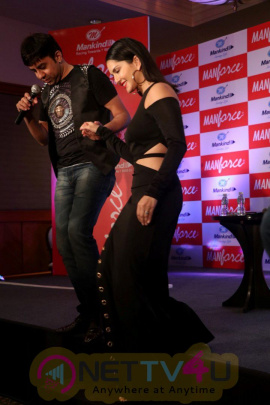 Actress  Sunny Leone Launched Manforce Special Calendar Statuesque Stills Hindi Gallery