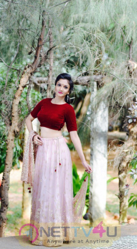 Actress Surabhi Santosh Photo Shoot Images Tamil Gallery