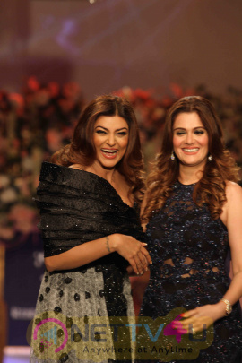 Actress Sushmita Sen At The Launch Of The Rebecca Dewan Couture Label Stills