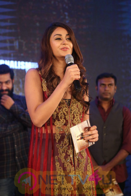 Aditi Arya At ISM Movie Audio Launch Photos