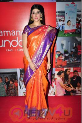 Aditi Singh Pics At Kalamandir 6th Anniversary Celebrations Telugu Gallery