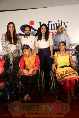 Aditya Mehta Foundation Felicitates Disabled Persons Beauteous Photos &  Regina, Shilpa Reddy cute Stills Telugu Gallery