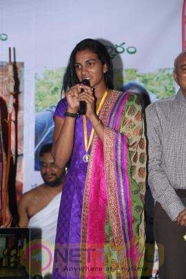Amaravathi Telugu Movie Song Launch Stunning Photos Telugu Gallery