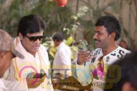 Ame Athadaithe Telugu Movie Working Stills