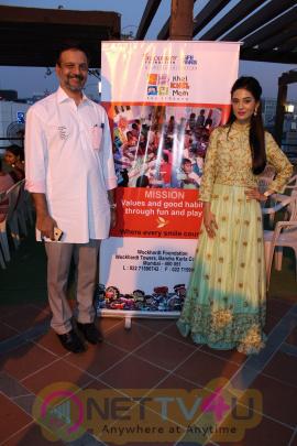 Amrita Rao Encourages Over 200 Underprivileged Children Pics