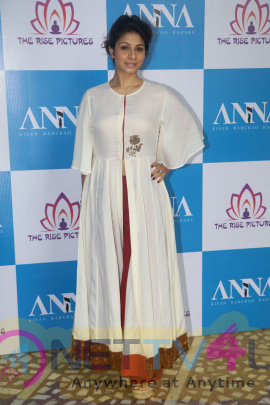 Anna Hazare & Tanishaa Mukerji At Poster Launch Of Film ANNA Amazing Stills