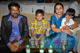 Arjun Sarja & Aishwarya Arjun At Prema Baraha Kannada Movie Launch Extraordinary Stills Kannada Gallery