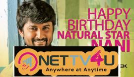 Abhishek Pictures Wishing Hero Nani Birthday Poster