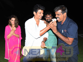actor jiiva birthday celebration photos