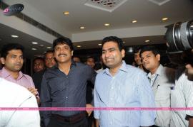 actor nagarjuna inaugurates kalyan jewellers showroom at panjagutta