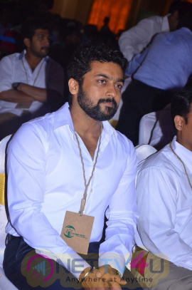actor surya agaram foundation press meet photos