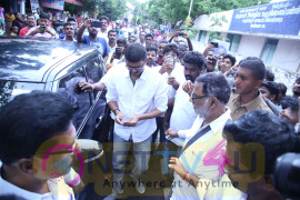 Actor  Vijay & Trisha For Vote Charming Photos  Tamil Gallery